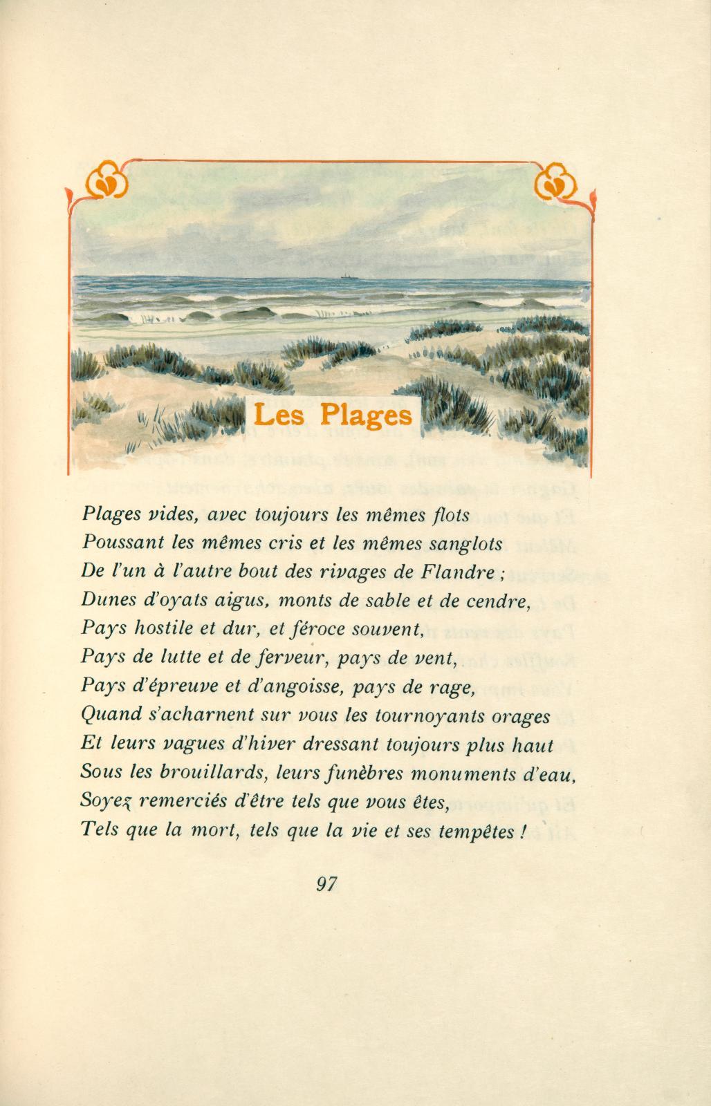 Émile Verhaeren (1855-1916), Toute la Flandre. La Guirlande des dunes. Les Villes à pignons. Les Plaines, Bruxelles, Edmond Deman, 1907-19