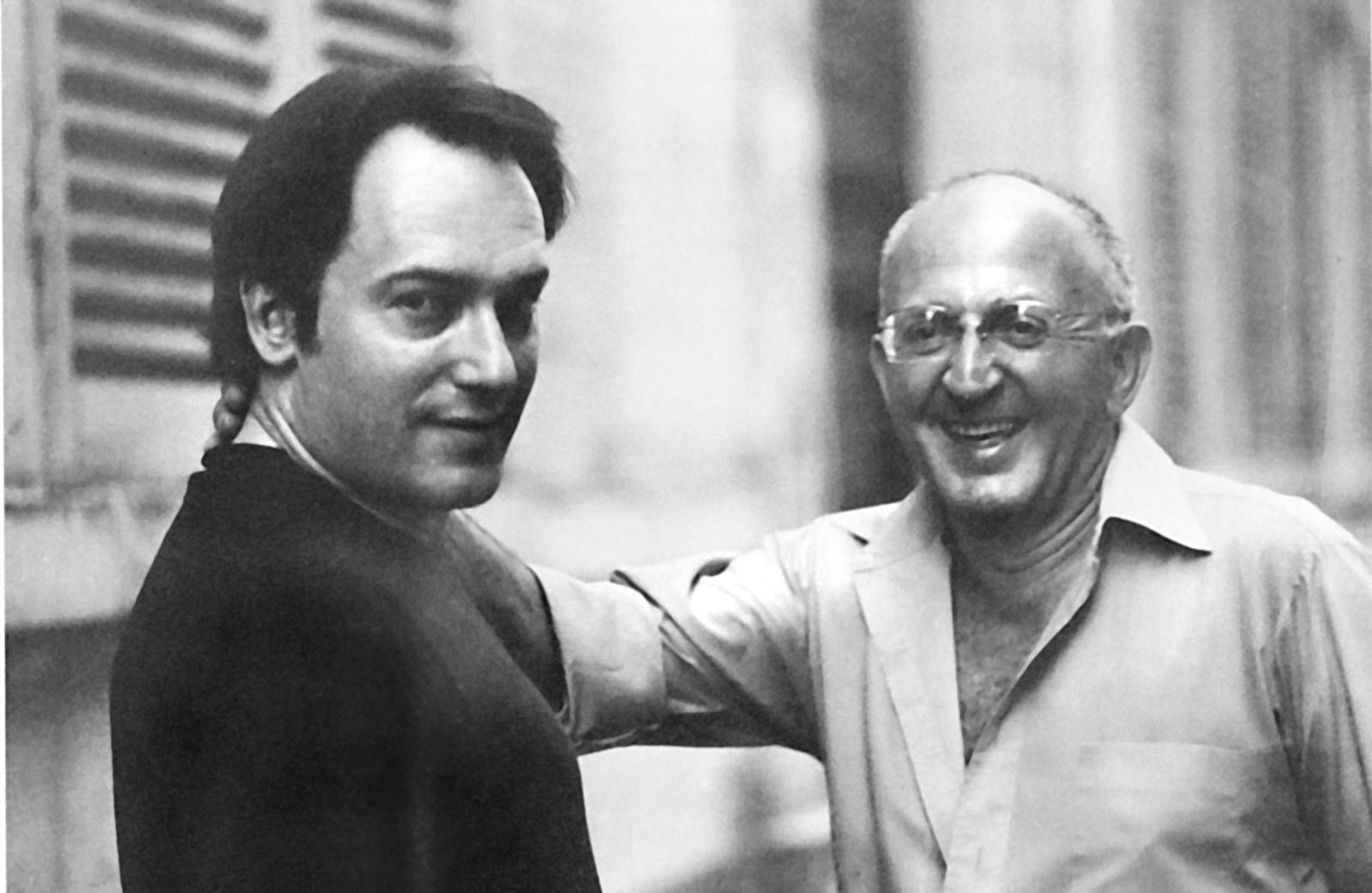 Alan et Serge Mouille en 1982.
