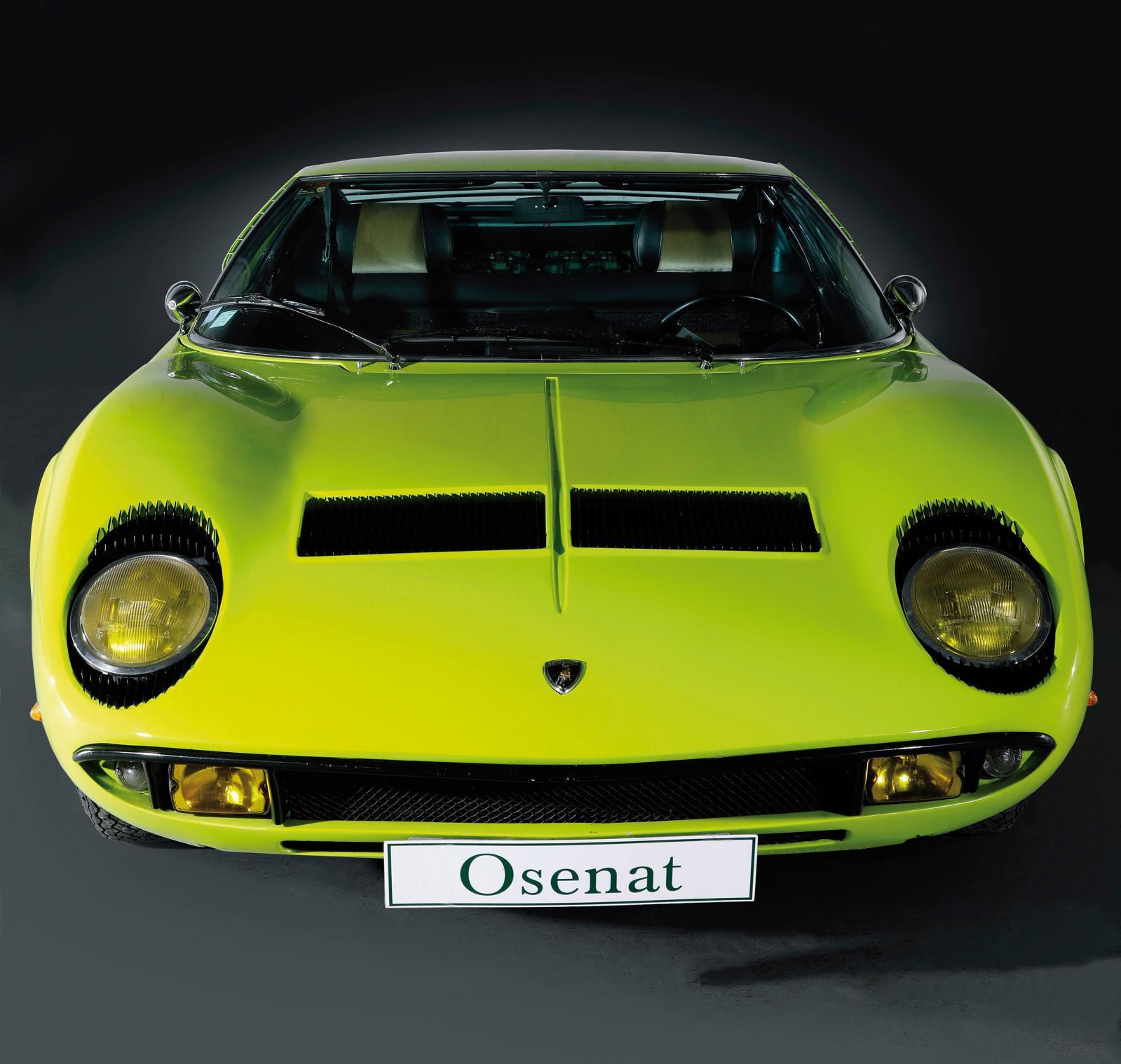 1969, Lamborghini Miura P400 S, chassis4332, numéro de production435, numéro Bertone535, moteur30443Estimation: 700000/1000000€