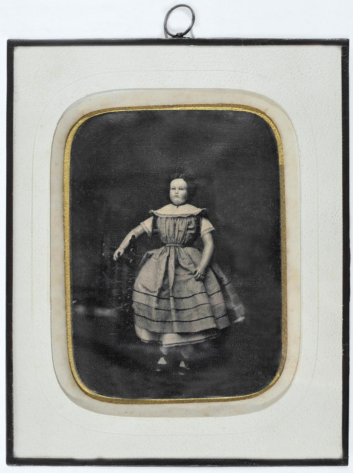 Jean-Baptiste Lagriffe(1820-1865), Portrait stéréoscopique, panotype, vers1860, 8,5x17,5cm. ©Christophe Dubois-Rubio