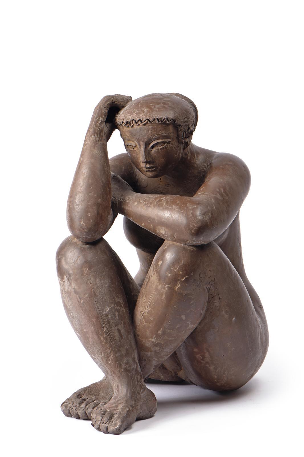 Né à Albano Laziale, en Italie, Antoniucci Volti(1915-1989) s'affirmera avec ses nus féminins comme l'un des meilleurs plasticiens s'insc
