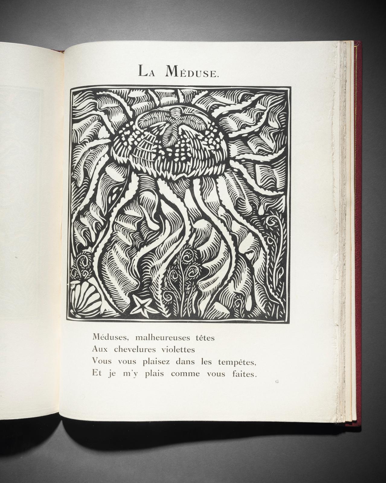 Guillaume Apollinaire(1880-1918), Le Bestiaire ou Cortège d'Orphée, Paris, Deplanche, 1911, édition originale illustrée de trente-huitbo