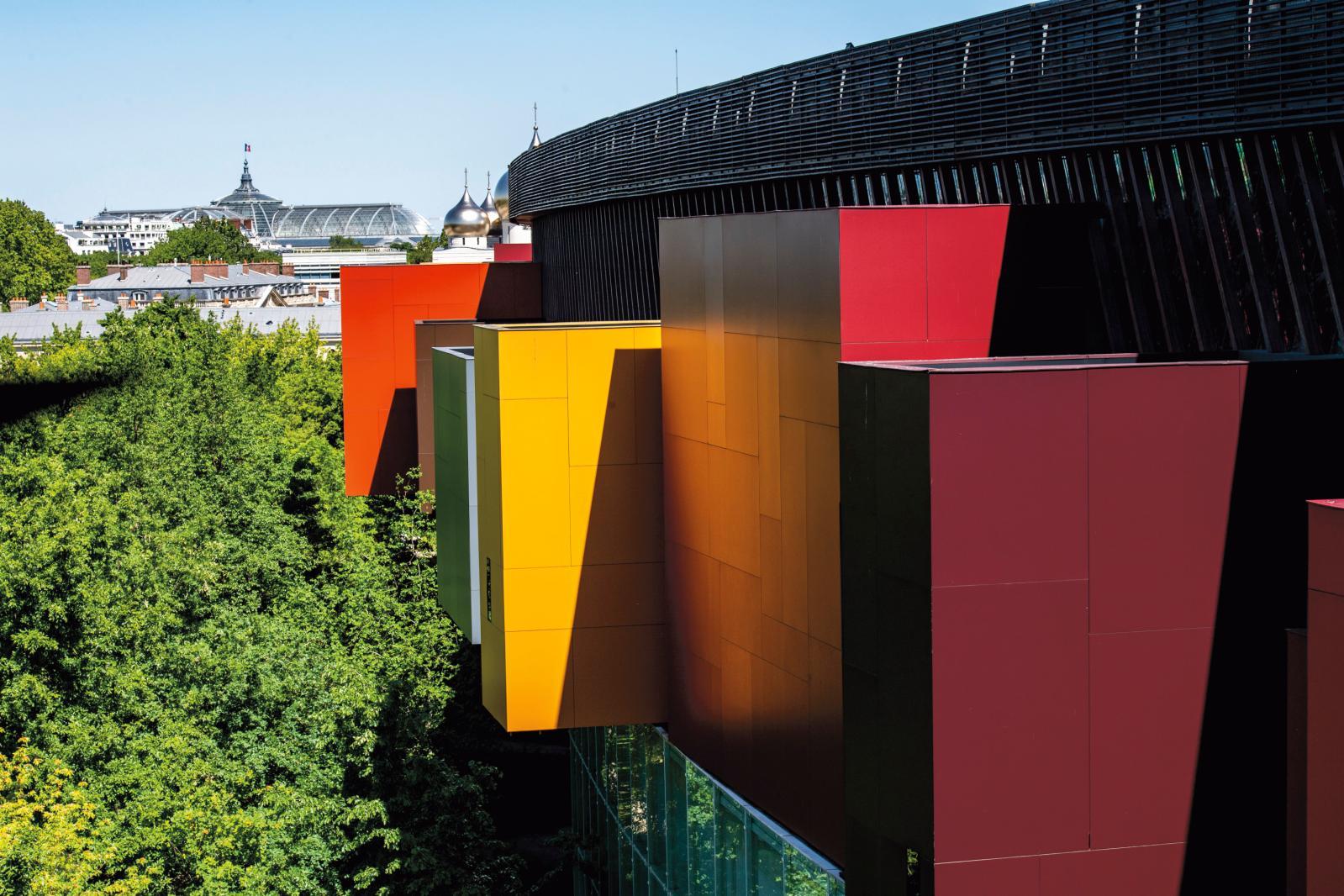 Le musée du quai Branly Jacques Chirac. ©Photo Thibaut Chapotot
