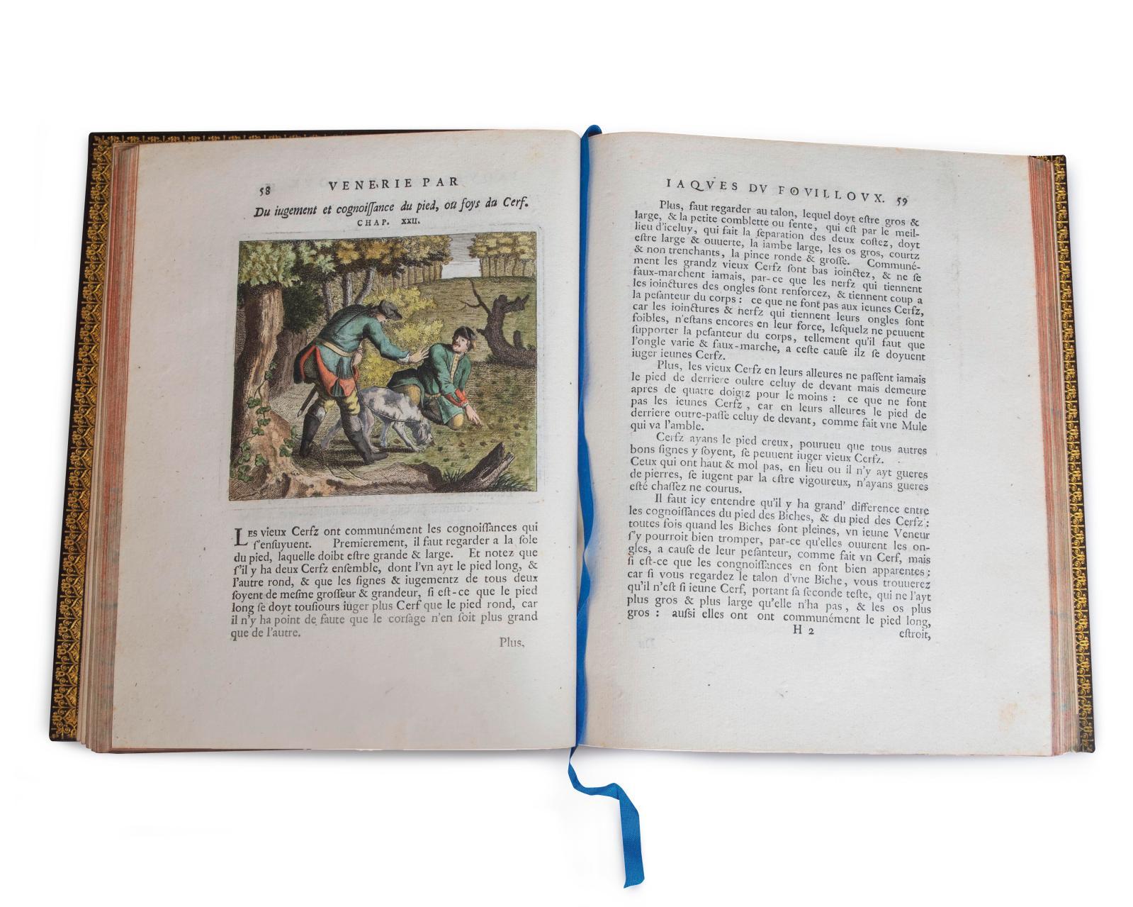 Jacques du Fouilloux,La Vénerie de Jacques du Fouilloux, Gentilhomme, Seigneur dudit lieu, pays de Gastine, en Poitou, Bayreuth, Frédéric