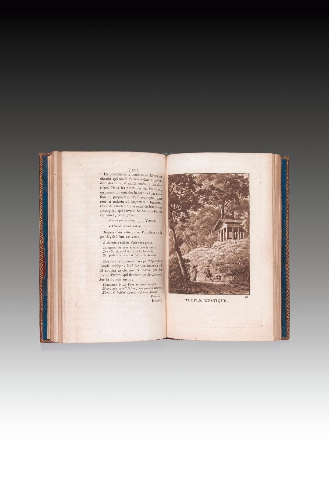 Stanislas Girardin, vicomte d'Ermenonville (1762-1827), Promenade ou Itinéraire des jardins d'Ermenonville,auquel on a joint 25 de leurs