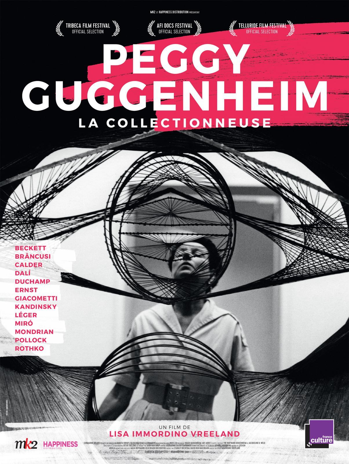 Peggy Guggenheim: la collectionneuse, DVD chez BlaqOut, 1h36, réalisation Lisa Immordino Vreeland.