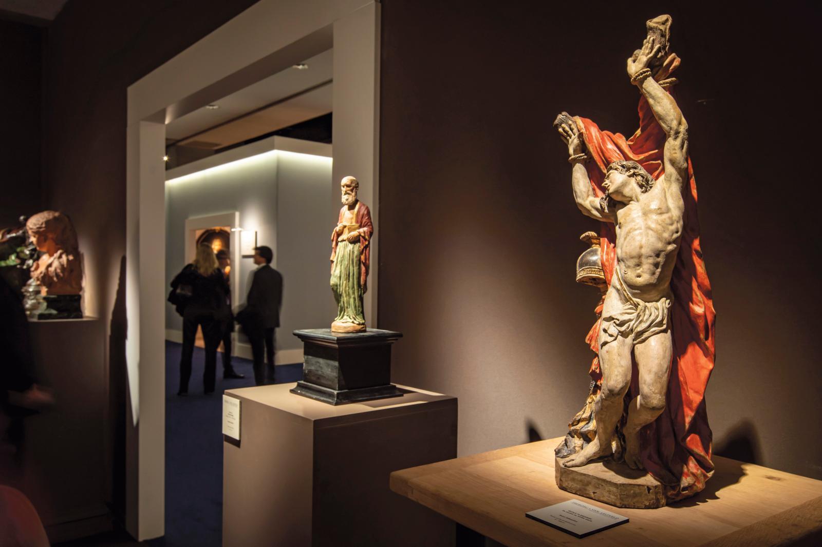 Stand Chaptal sur Fine Arts Paris, 2019. © photos Tanguy-de-Montesson