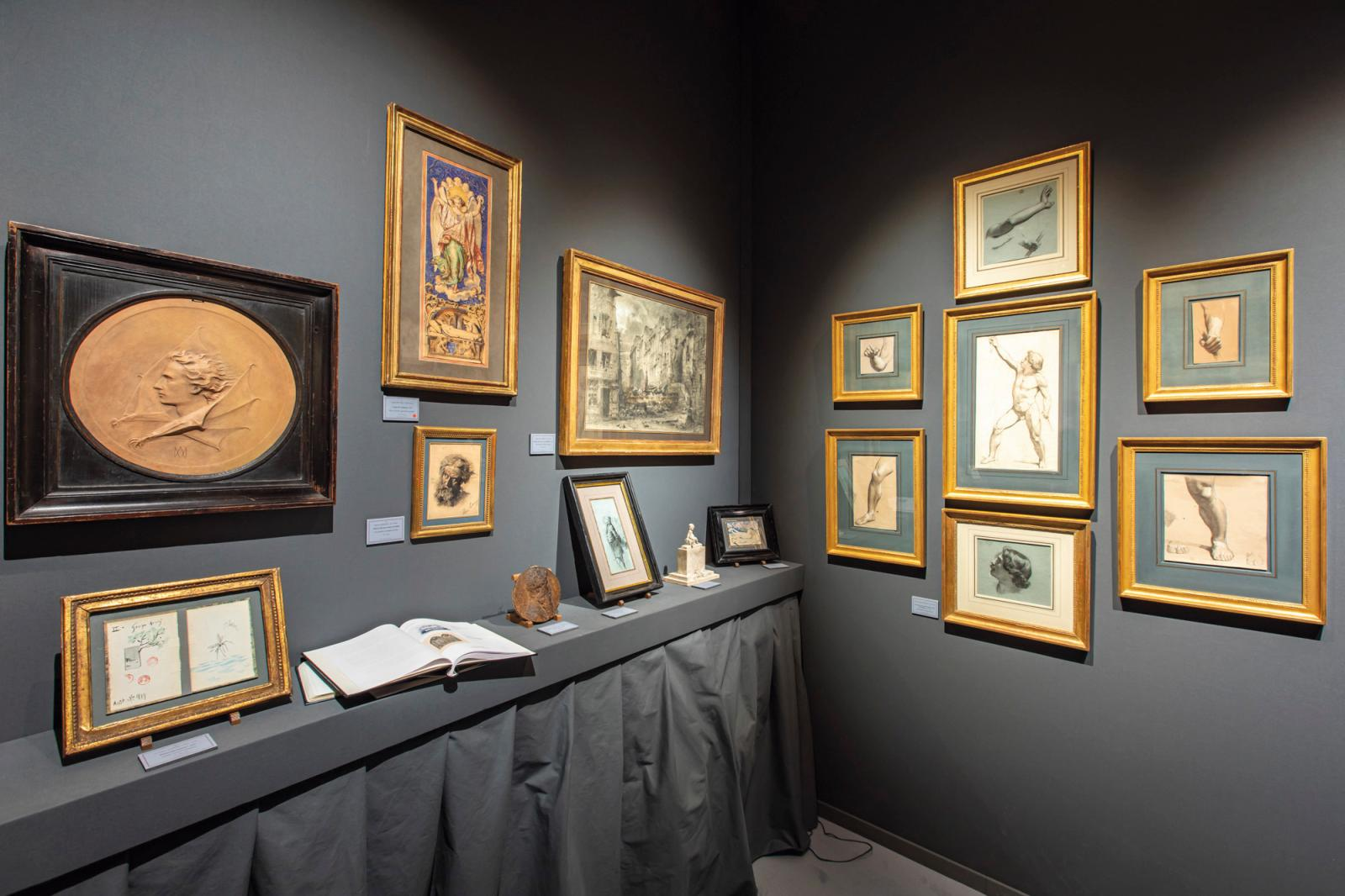 Stand Trebosc et Van Lelyveld sur Fine Arts Paris, en 2019. © photos-Tanguy-de-Montesson