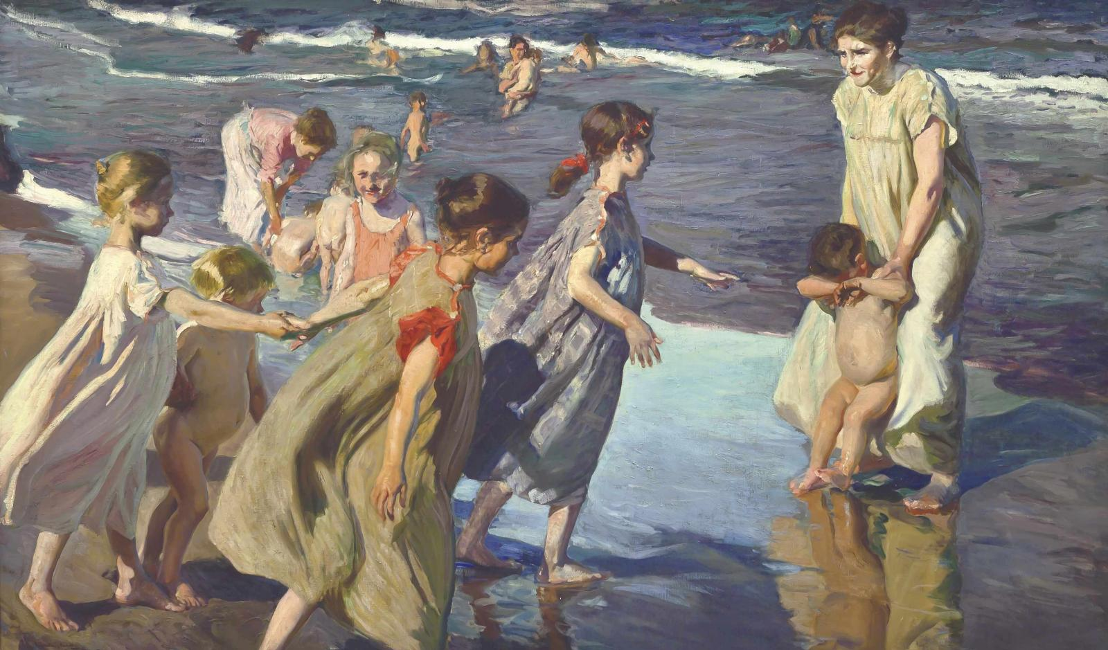 Joaquín Sorolla, L'Été, 1904, huile sur toile, 149x252cm. La Havane, Museo Nacional de Bellas Artes, inv.Nr.93-145. ©La Havane, Muse