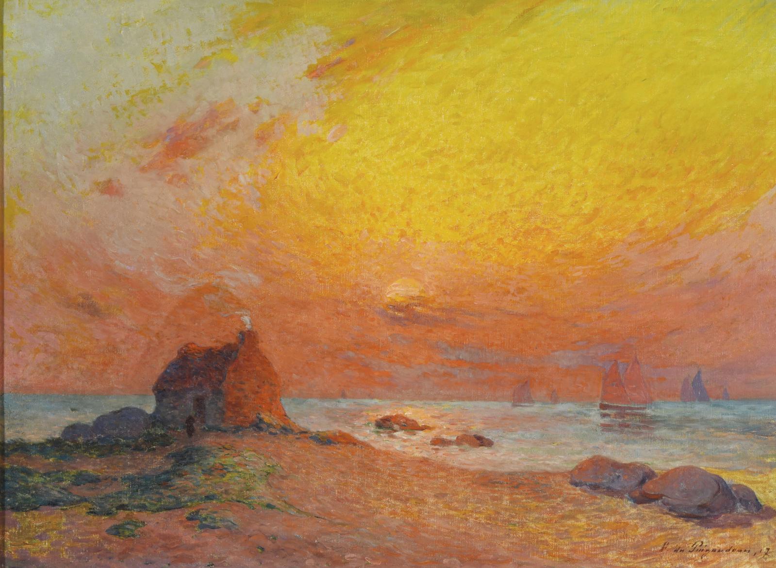 Ferdinand Loyen du Puigaudeau(1864-1930), breton par sa naissance, s'est abondamment inspiré de sa province natale pour construire une œu