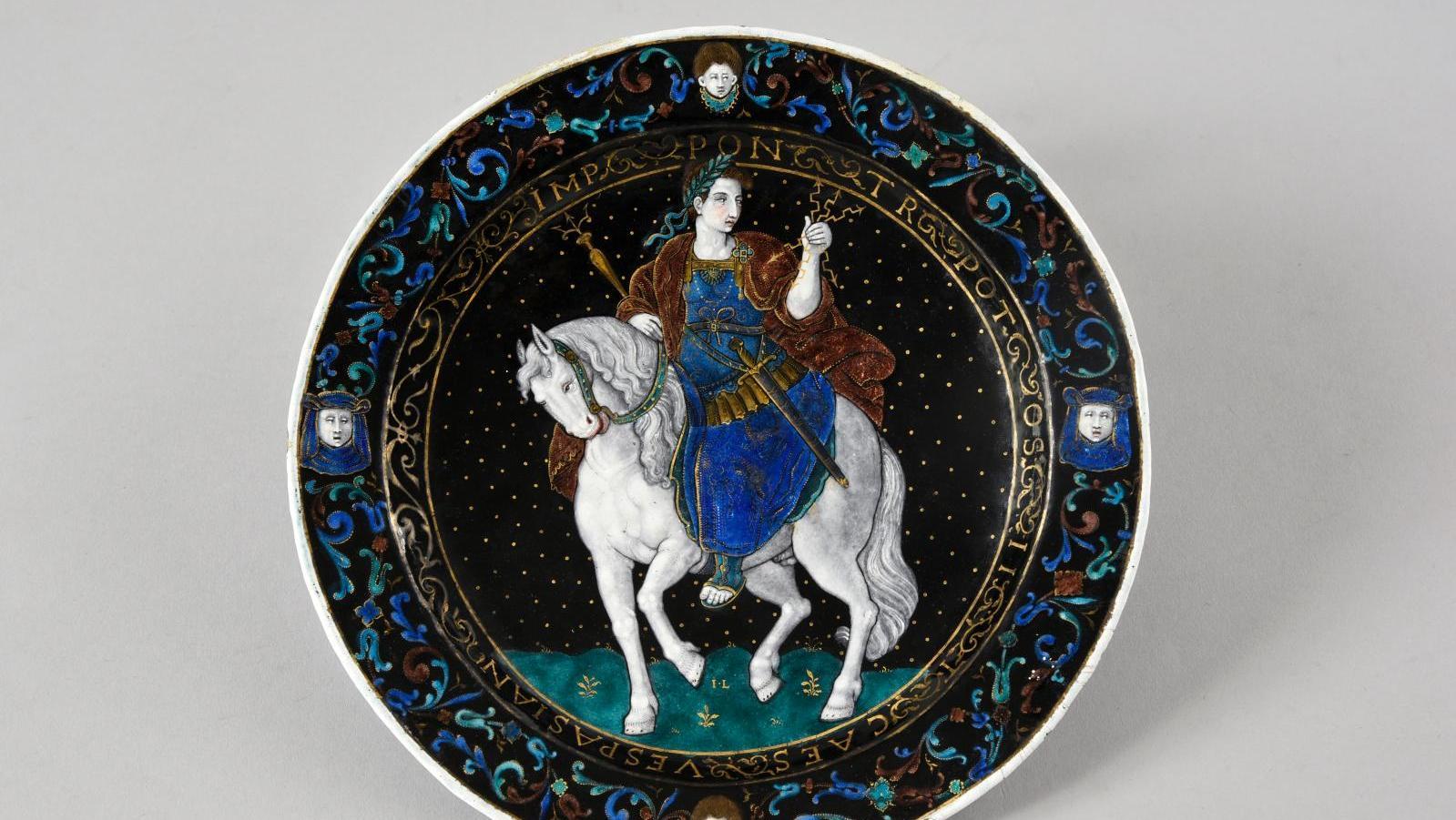 Pre Sale Vespasian S White Horse By Jean Limosin