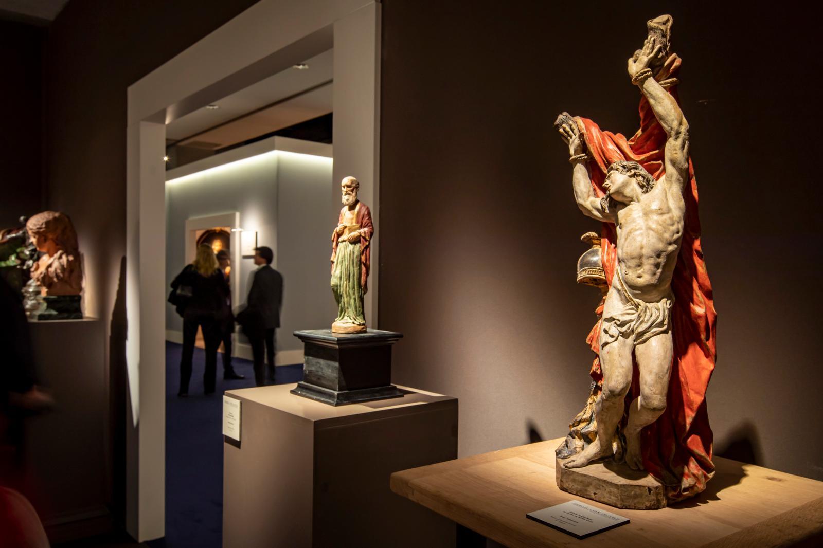 The Trebosc & Van Lelyveld stand at Fine Arts Paris, 2019© Tanguy de Montesson