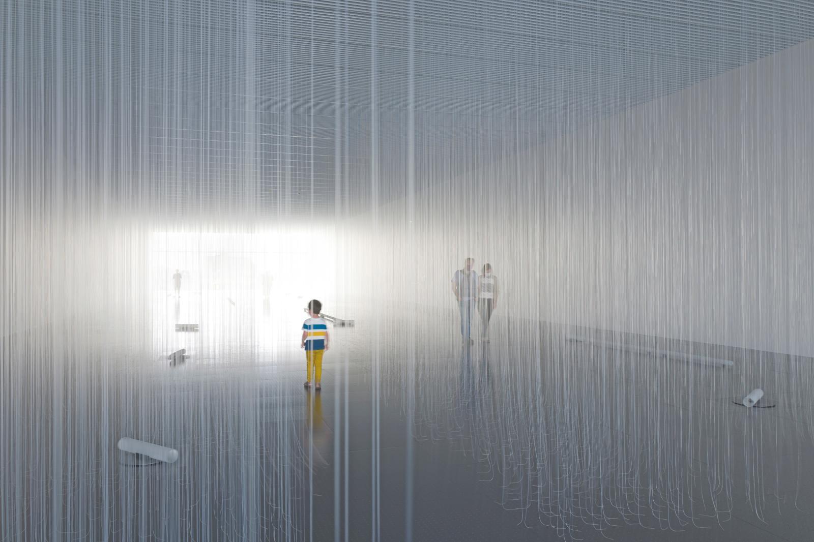 Frémissements, 2020, Centre Pompidou-Metz. © Susanna Fritscher, Laurent Tessier