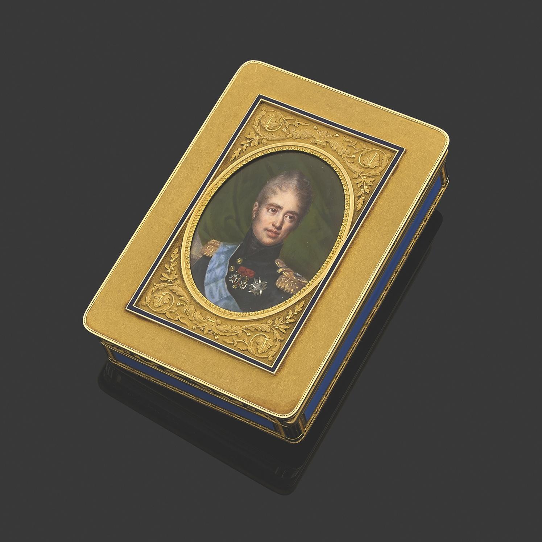 Le roi CharlesX(1757-1836) portant ses décorations – ordres de Saint-Louis, de la Toison d'or, Légion d'honneur et plaque de l'ordre du