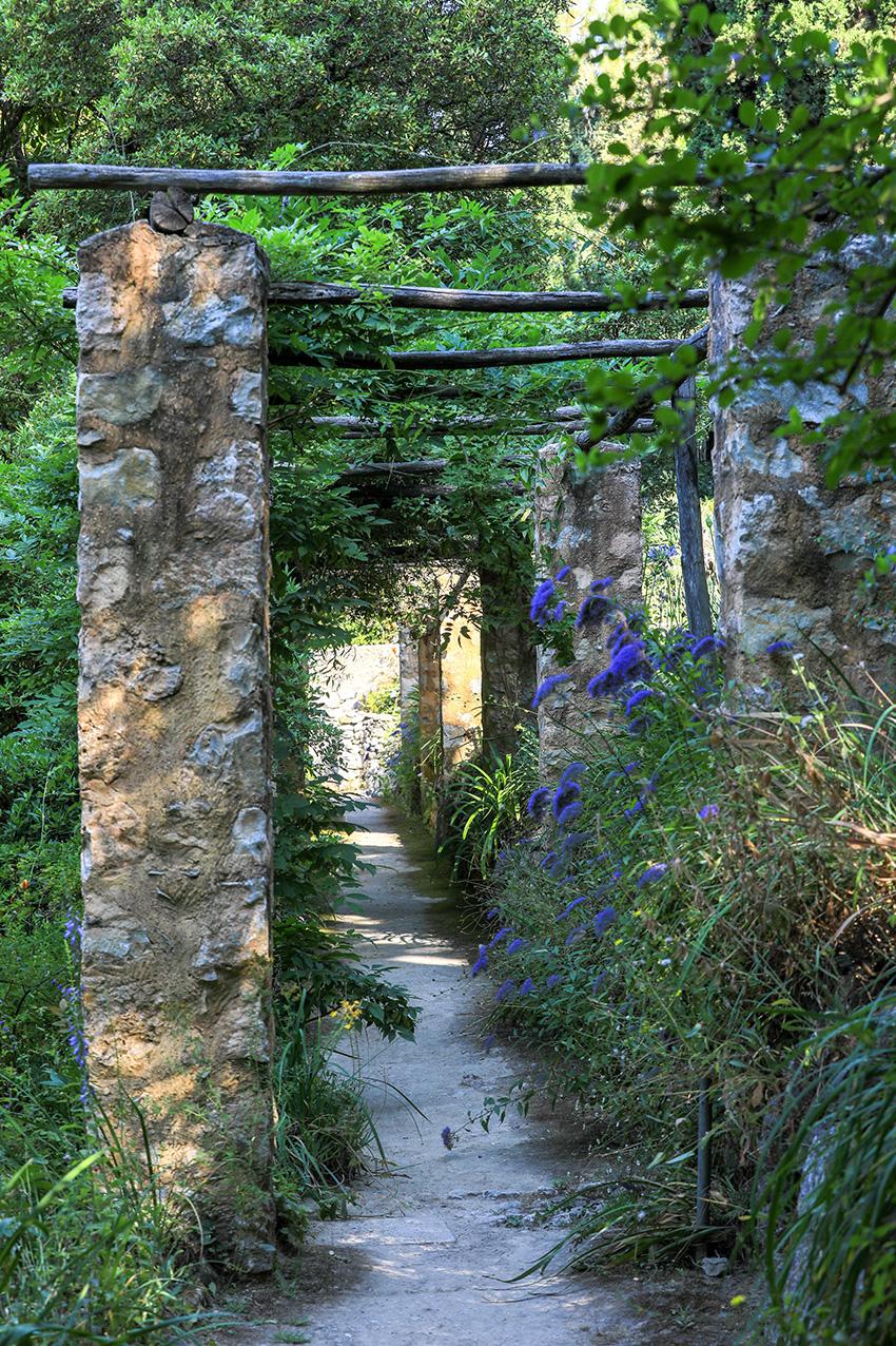 Garden of La Serre de la Madone. © Ville de Menton