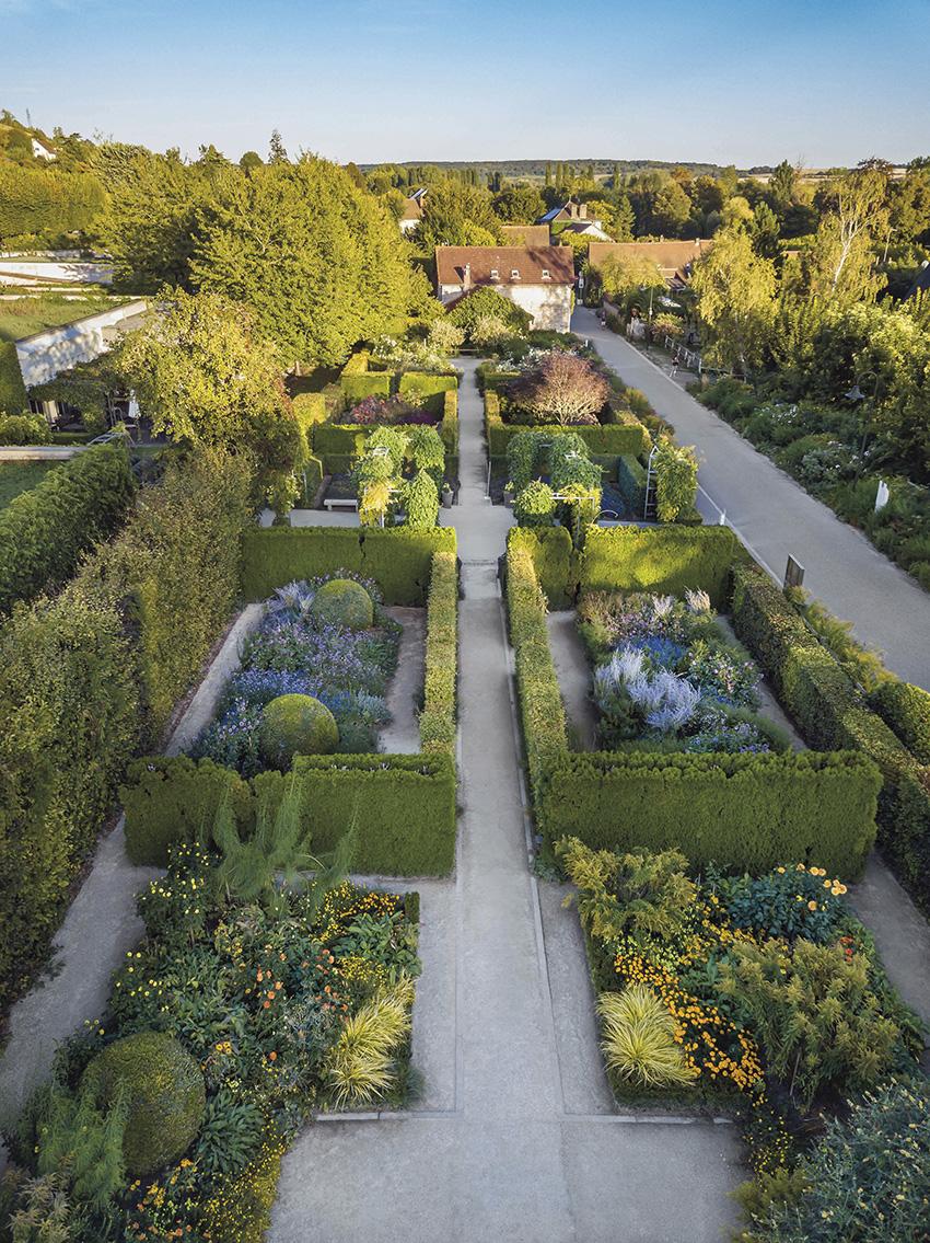 Le jardin du musée des Impressionnismes.© FRANCOIS GUILLEMIN