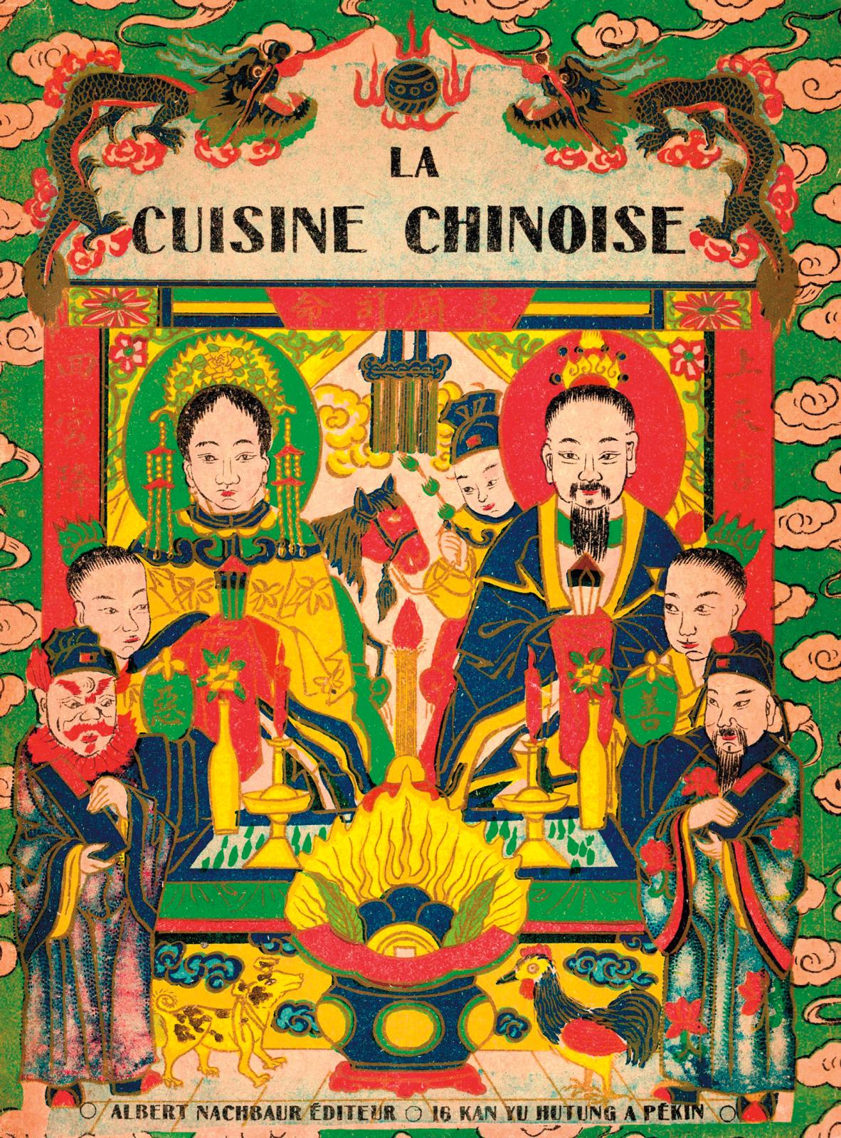 Henri Lecourt, La Cuisine chinoise (Chinese Cookery), Beijing, Albert Nachbaur, 1925 (Librairie Gastéréa).