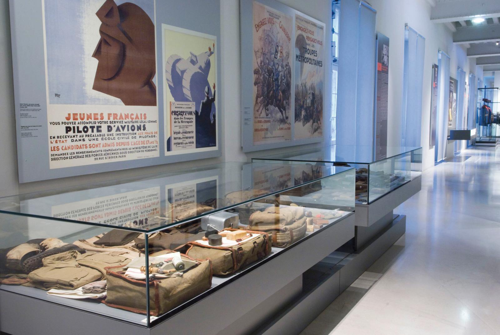 Le département des Deux Guerres mondiales. ©Paris, musée de l'Armée