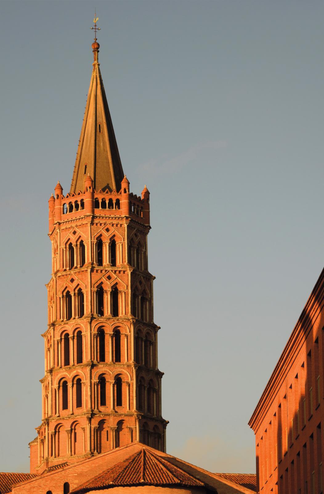 Le cloche de la basilique Saint-Sernin. © Grands Sites Patrice Thébault