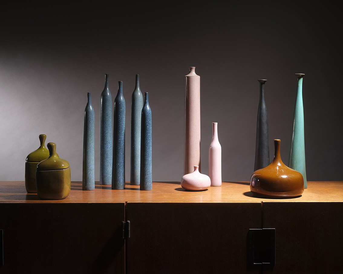 Jacques & Dani Ruelland, selection of ceramics (Binoche et Giquello).