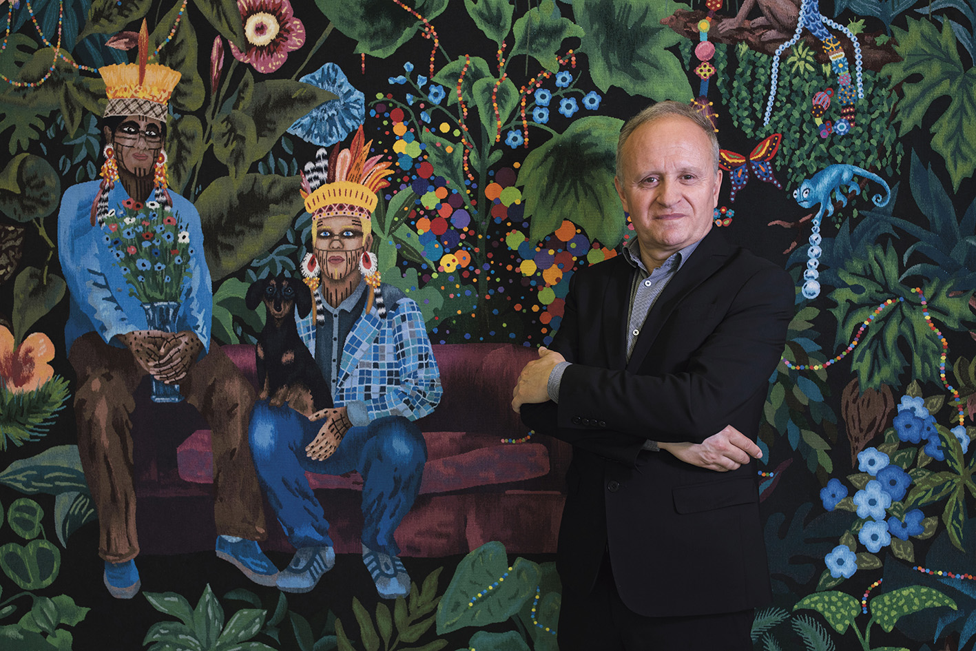 Emmanuel Gérard, directeur de la Cité internationale de la tapisserie.© ZENON