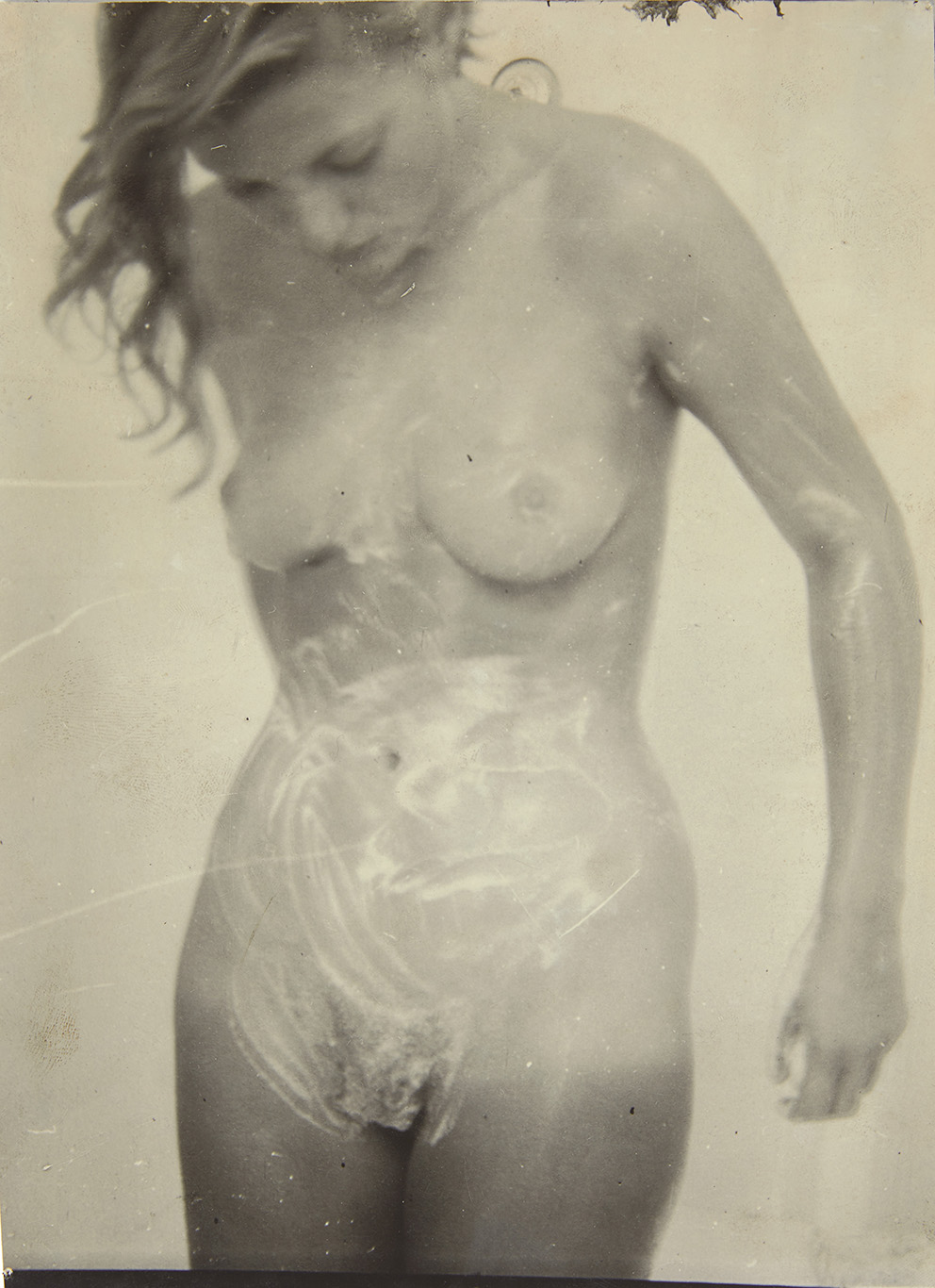 Anonymous photographer, Lee Miller nude in the shower, print on Agfa Brovira paper, 23.6 x 16.5 cm.Estimate: €1,000/2,000