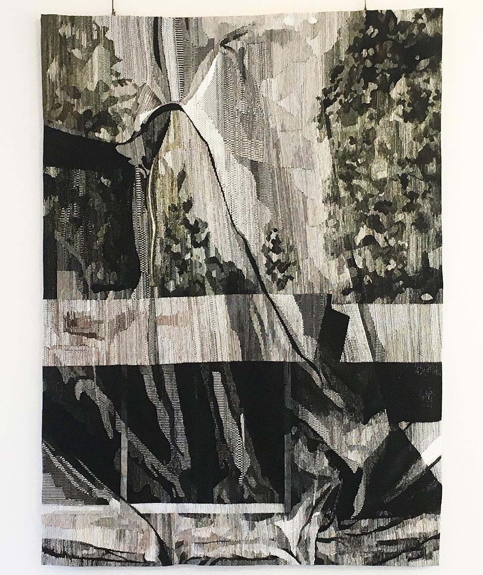 Eva Nielsen (b. 1983), Lucite, 2018, atelier Patrick Guillot, Aubusson, 300 x 220 cm.?© Cité Internationale de la Tapisserie