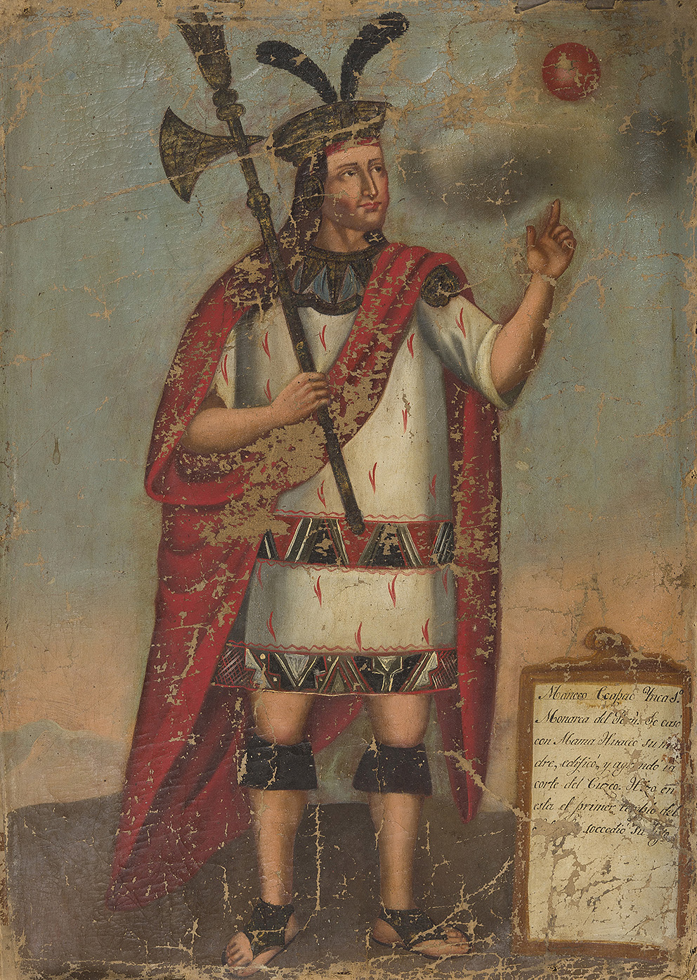 19th century South American school, Portraits of Inca emperors, series of eleven paintings, 55.5 x 41 cm.Result: €1,291,500