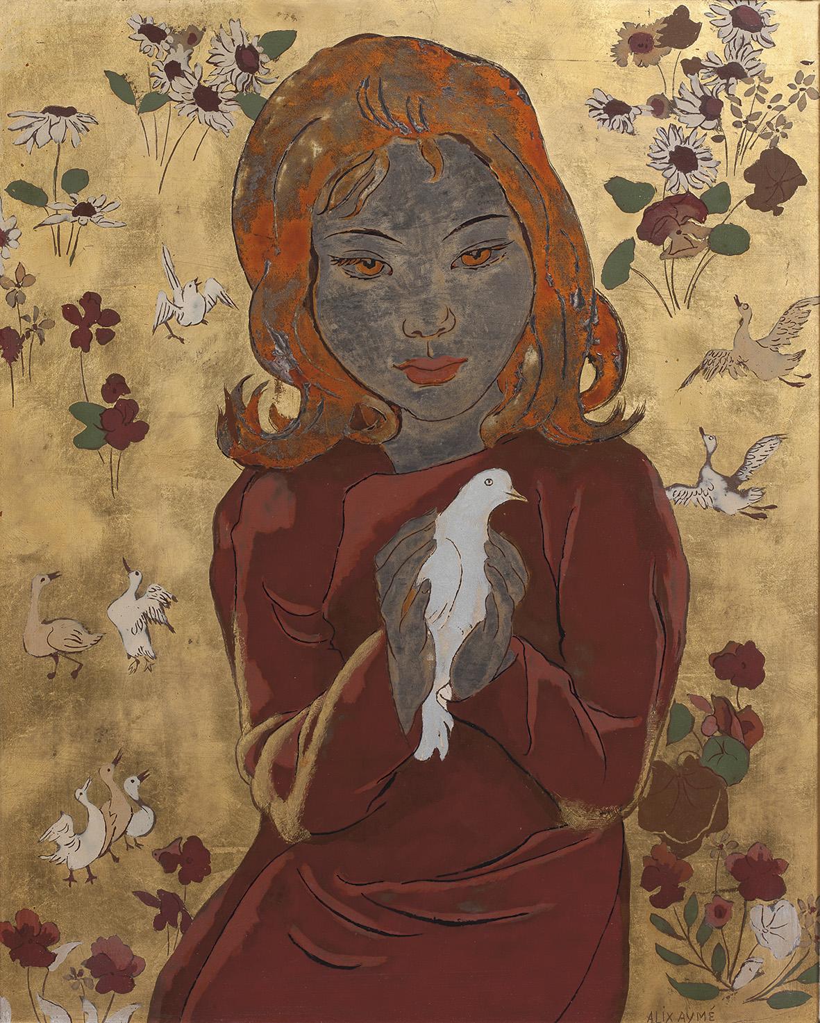 Alors que les peintres vietnamiens se sont rendus en France au début des années 1930, Alix Aymé (1894-1989) a fait le voyage inverse. Elle