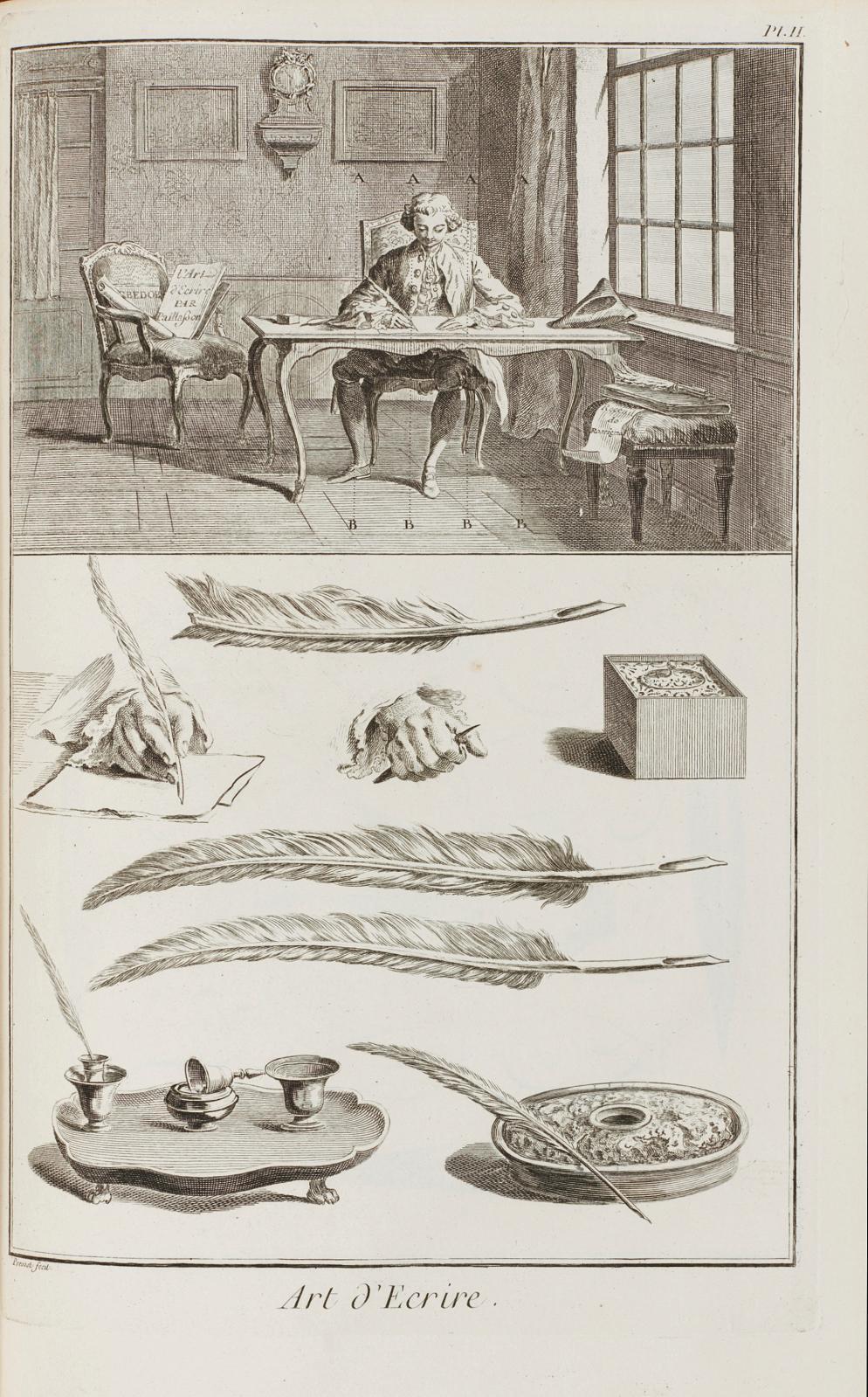 Denis Diderot (1713-1784) et Jean LeRond d'Alembert(1717-1783), Encyclopédieou Dictionnaire raisonné des artset des métiers, par une S