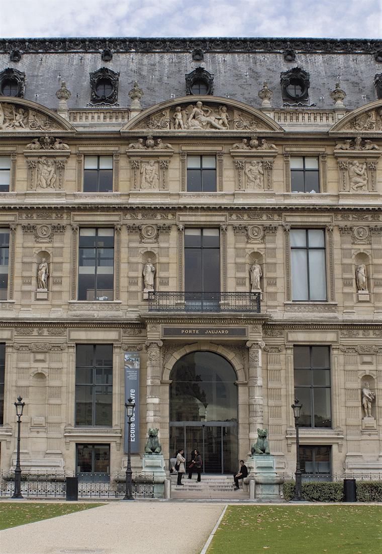 L'École du Louvre, aile de Flore, palais du Louvre. © EDL.MATHILDE LEDUR