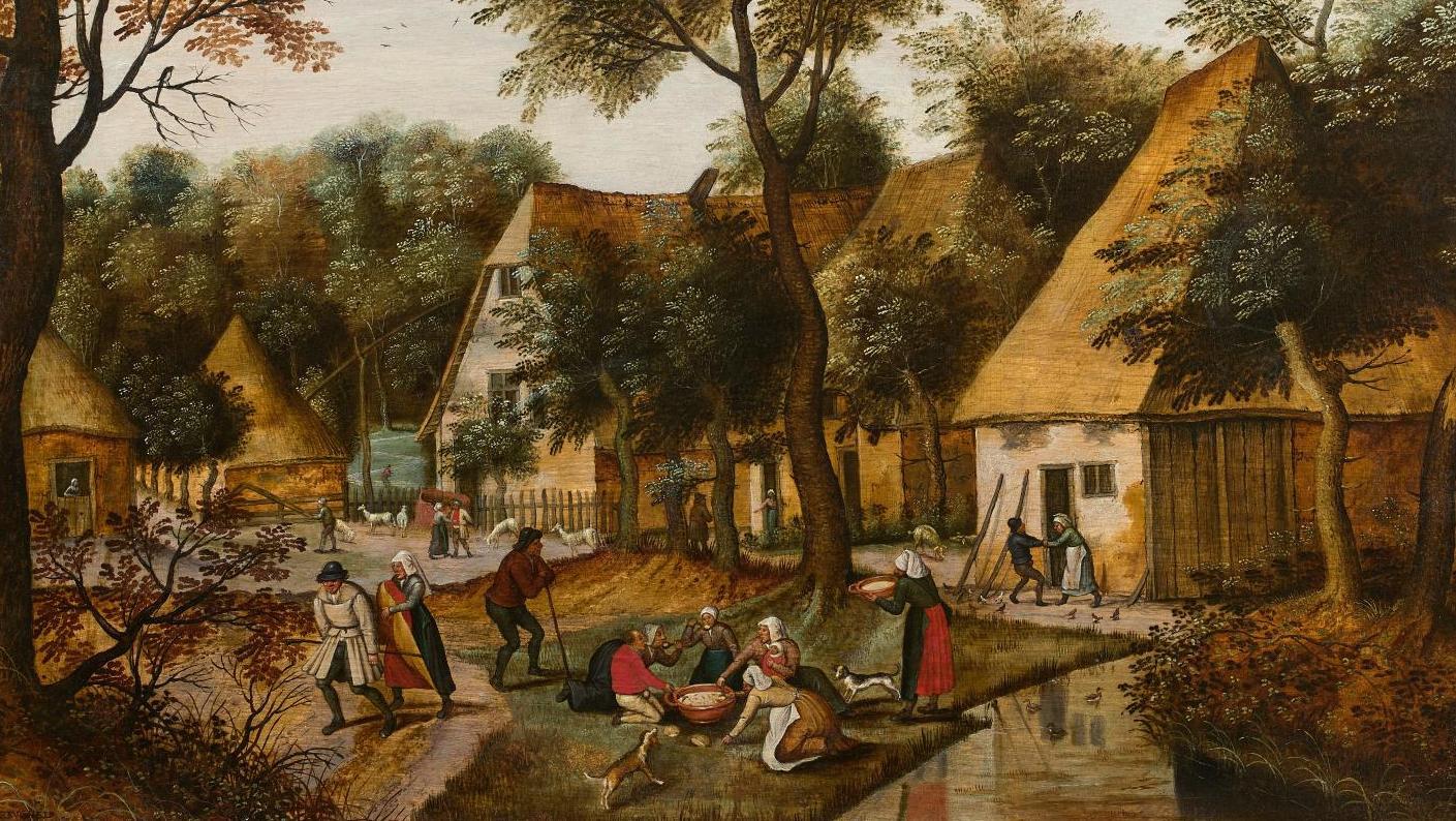 Le Repas Sur L Herbe De Bruegel Le Jeune