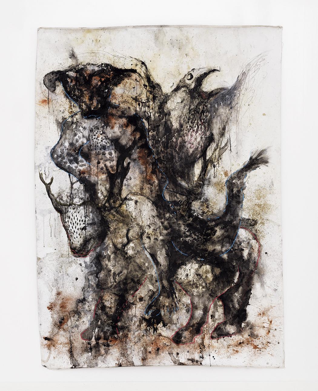 Aliou Diack, dit Badou, Arche de Noé (2018). © Aliou Diack. Courtesy Collection David H.Brolliet