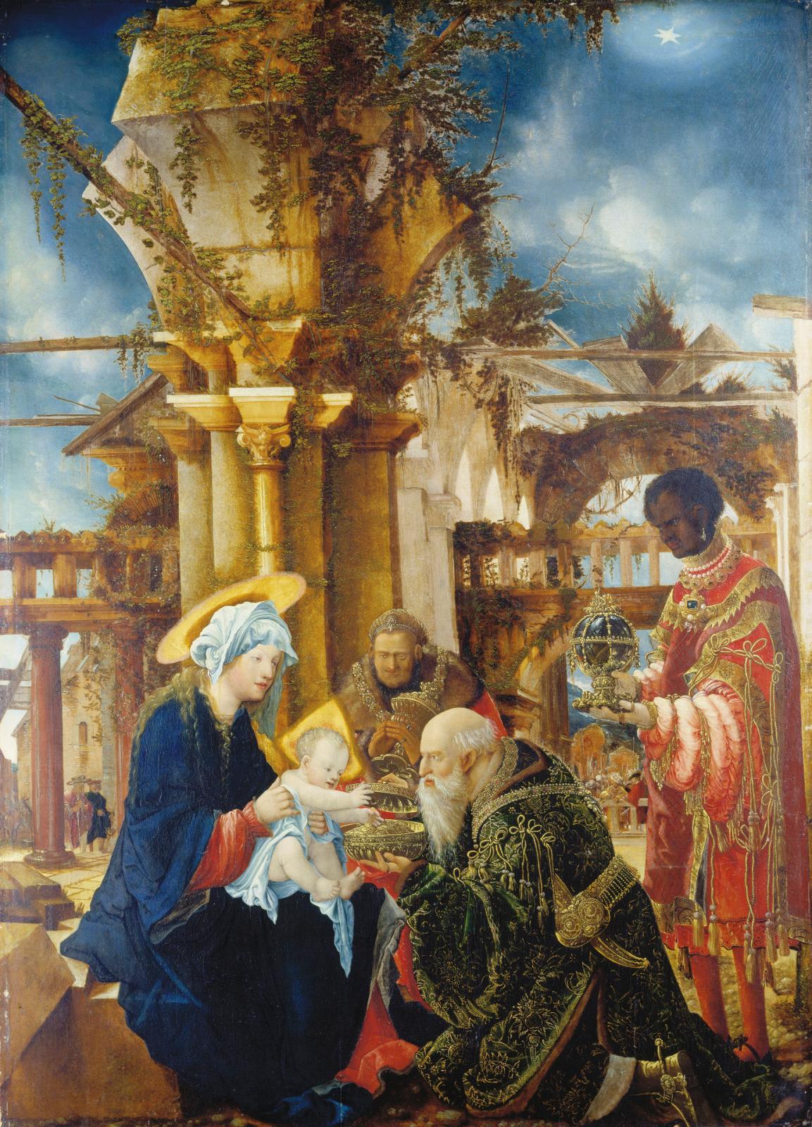 Nativité, 1511, Francfort, Städel Museum. ©Städel Museum