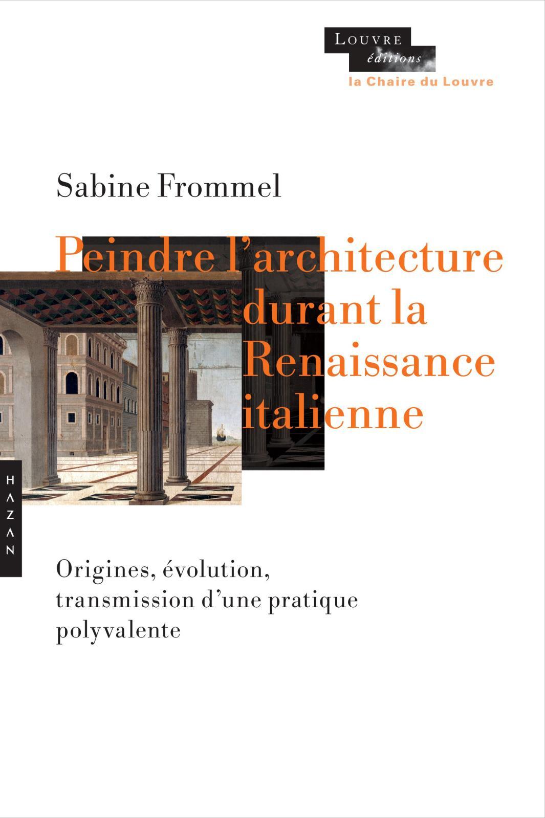 Peindrel'architecture Réservé aux spécialistes et professionnels, la publication des cinq conférences données par l'historienne de l'art