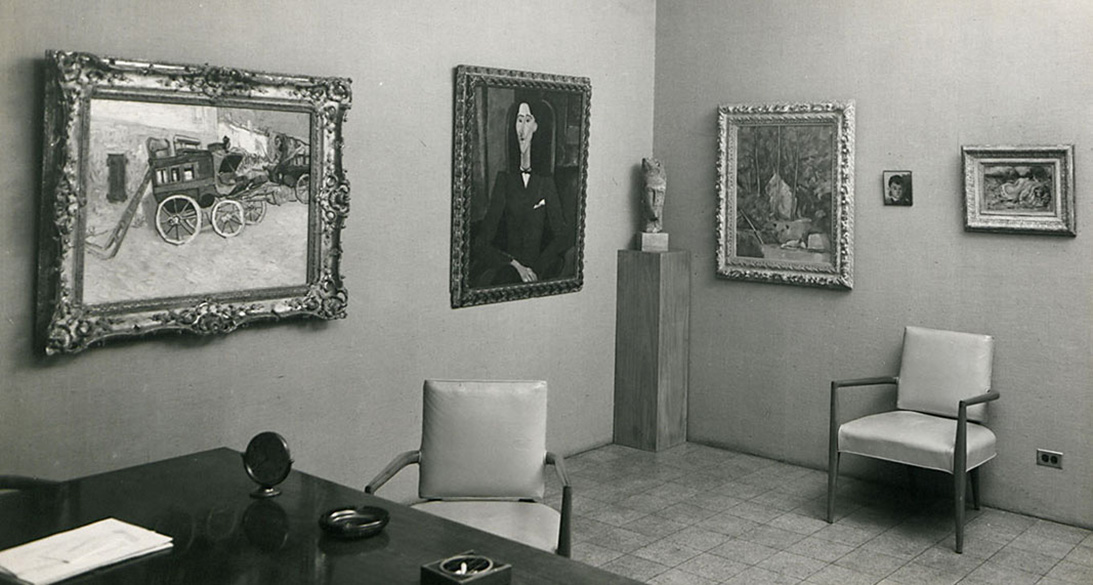 Henry Pearlman' Office, Eastern Cold Storage, New York, N.Y.Courtesy of The Henry and Rose Pearlman Foundation.