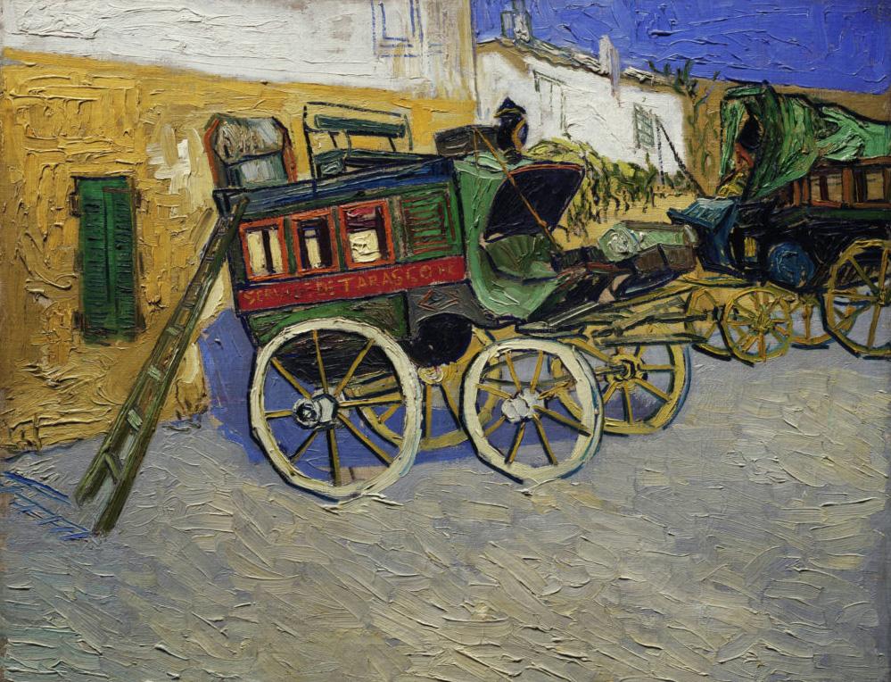 Vincent Van Gogh (1853-1890), Tarascon Stagecoach (La Diligence de Tarascon), 1888, oil on canvas, 71.4 x 92.5 cm (28 1/8 x 36 7/16 in).Co