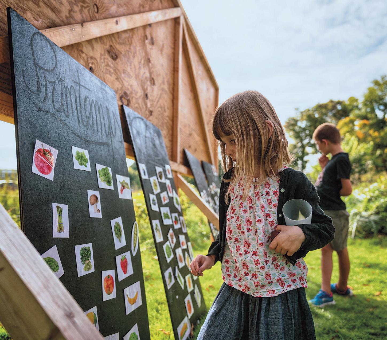 Le jeune public sensibilisé à l'écologie. © Stéphane Lanoux