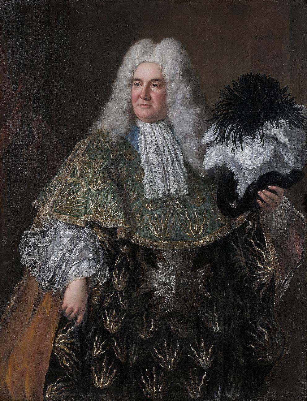 Alexis-Simon Belle (1674-1734), Portrait d'Antoine Crozat, Marquis du Châtel (vers 1655-1738), Portrait of Antoine Crozat, Marquis of Chât