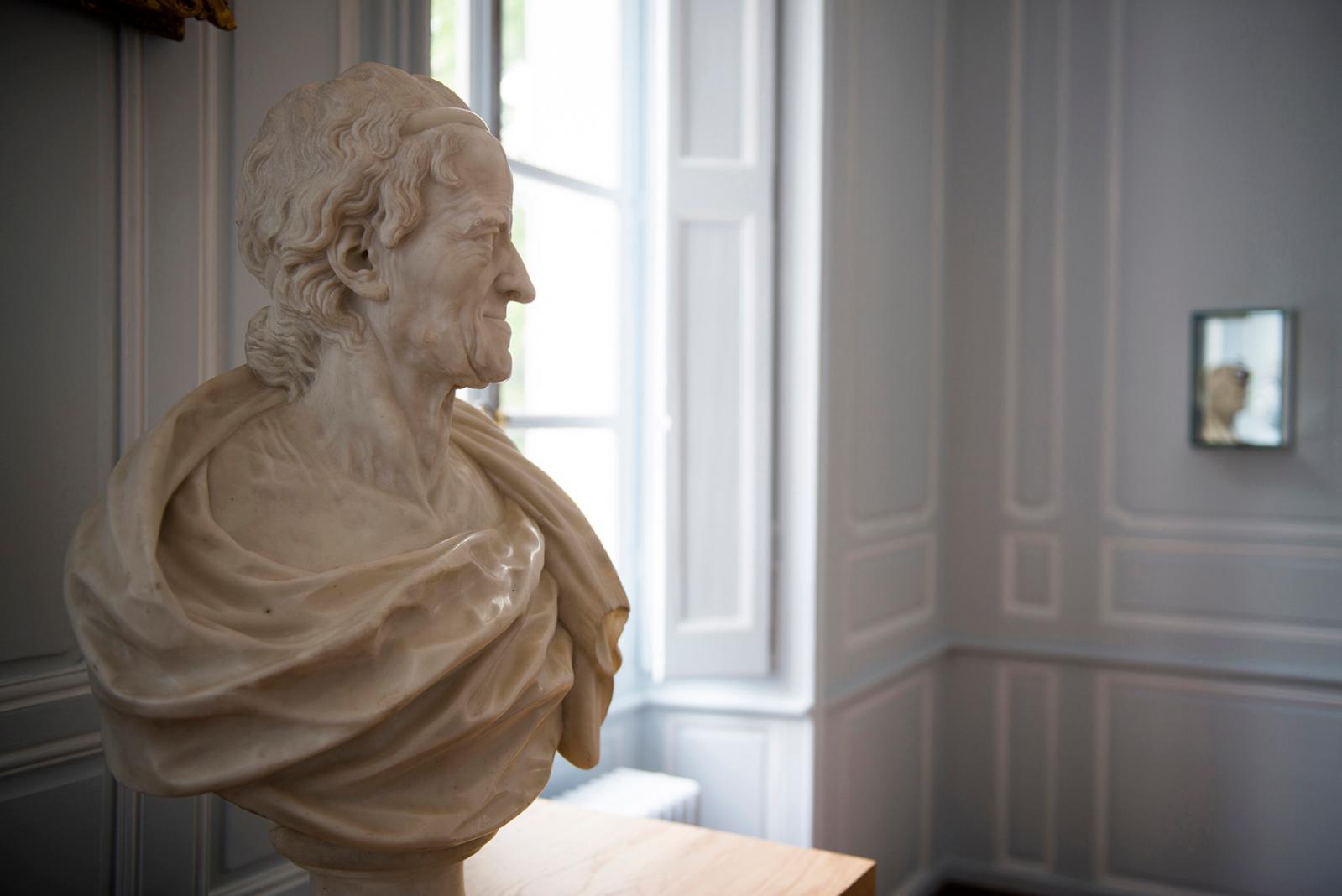 François-Marie Poncet, buste de Voltaire âgé, vers 1776.