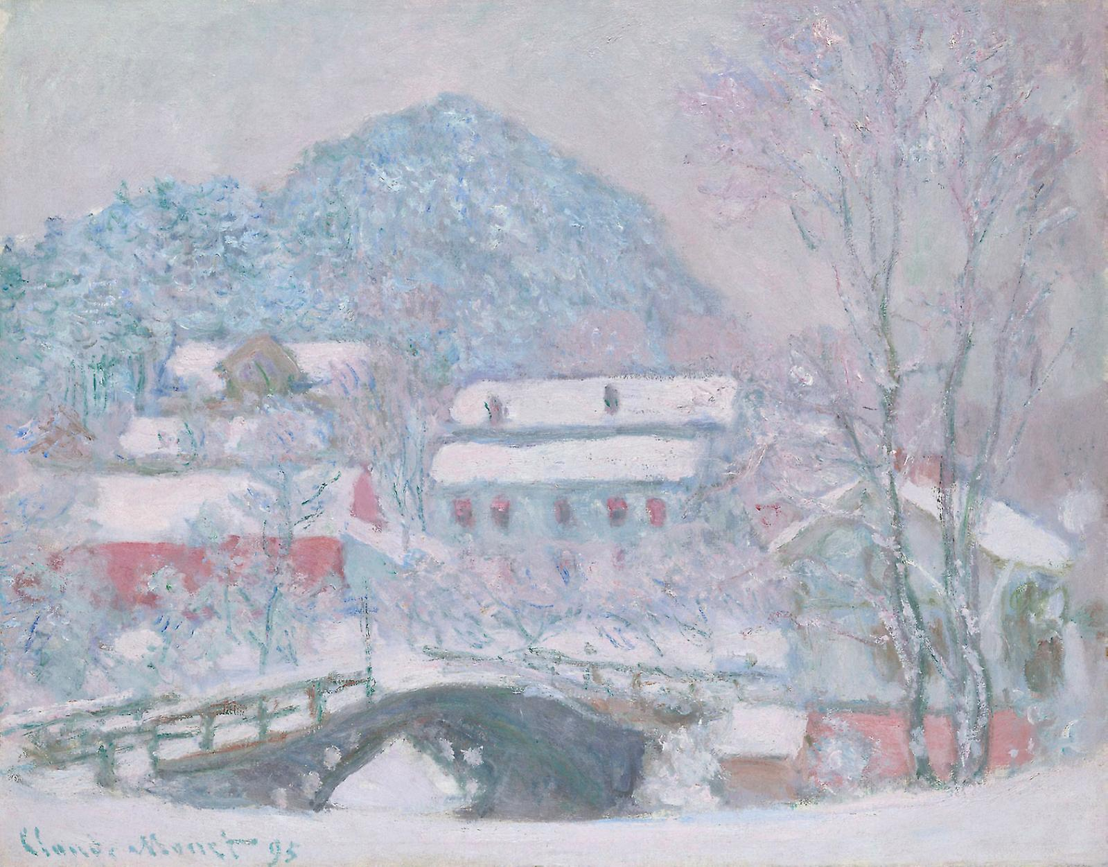 Claude Monet, Sandvika, Norway, 1895, oil on canvas.Courtesy of The Art Institute of Chicago, Gift of Bruce Borland.
