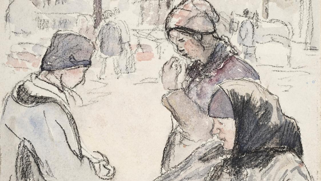Apres Vente De Camille Pissarro A Diego Giacometti Les Charmes De La Vie Simple