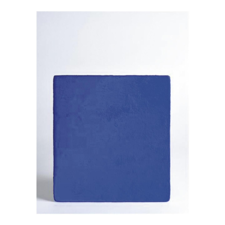 585900€ Yves Klein(1928-1962), Monochrome bleu IKB, 1959, huile sur toile signée, datée et dédicacée à Guy Habasque, 33x30,5cm.Drouo