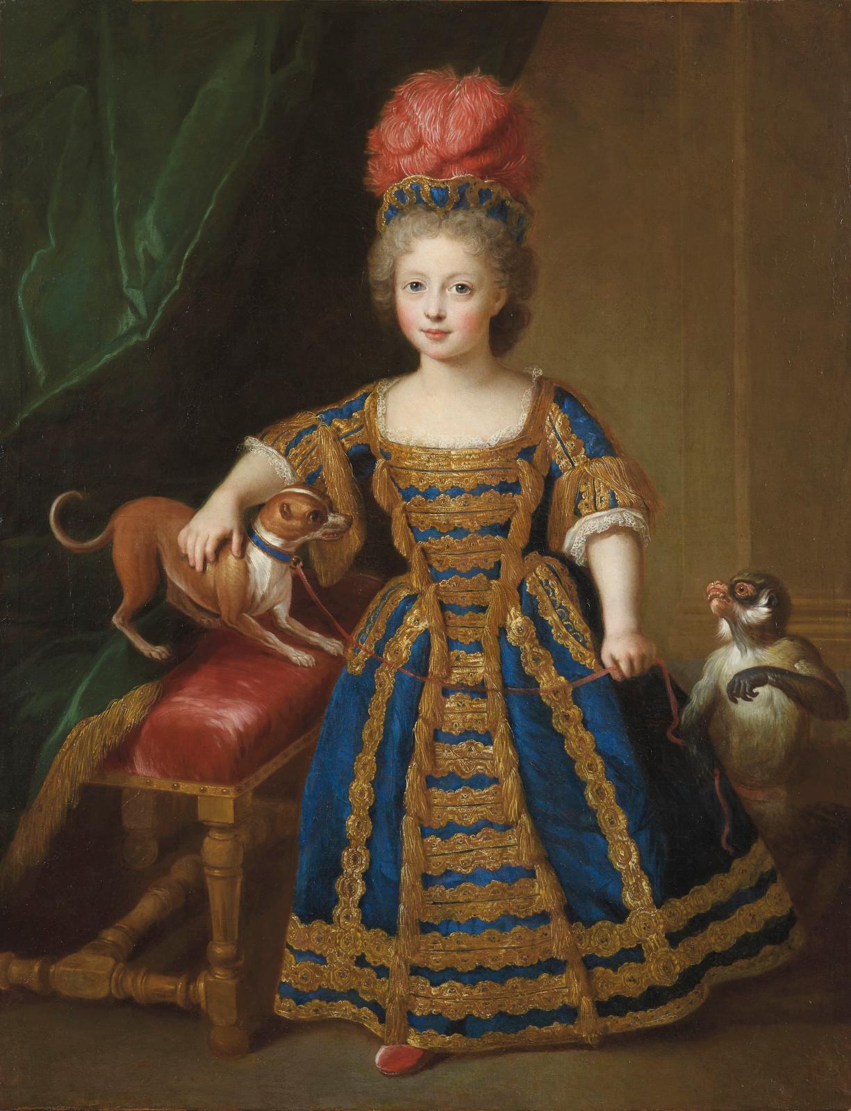 Pierre Gobert, FrançoisIII de Lorraine, enfant, vers 1772, huile sur toile, 89,5x70cm, musée de Lunéville. ©Cliché galerie A.Bordes