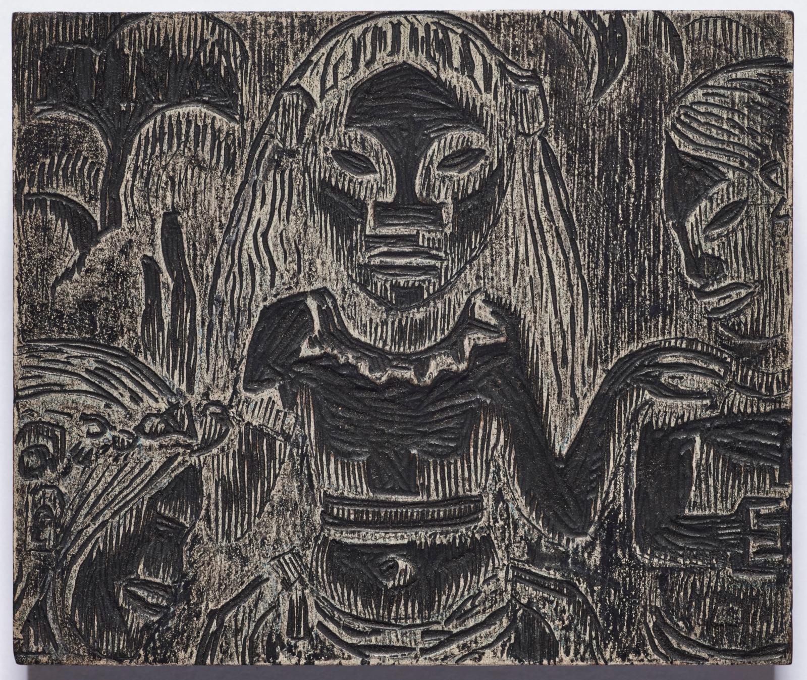 George-Daniel de Monfreid (1856-1929), ensemble de vingt-six bois gravés pour l'édition de 1924 par Crès de Noa Noa de Paul Gauguin. Adjug