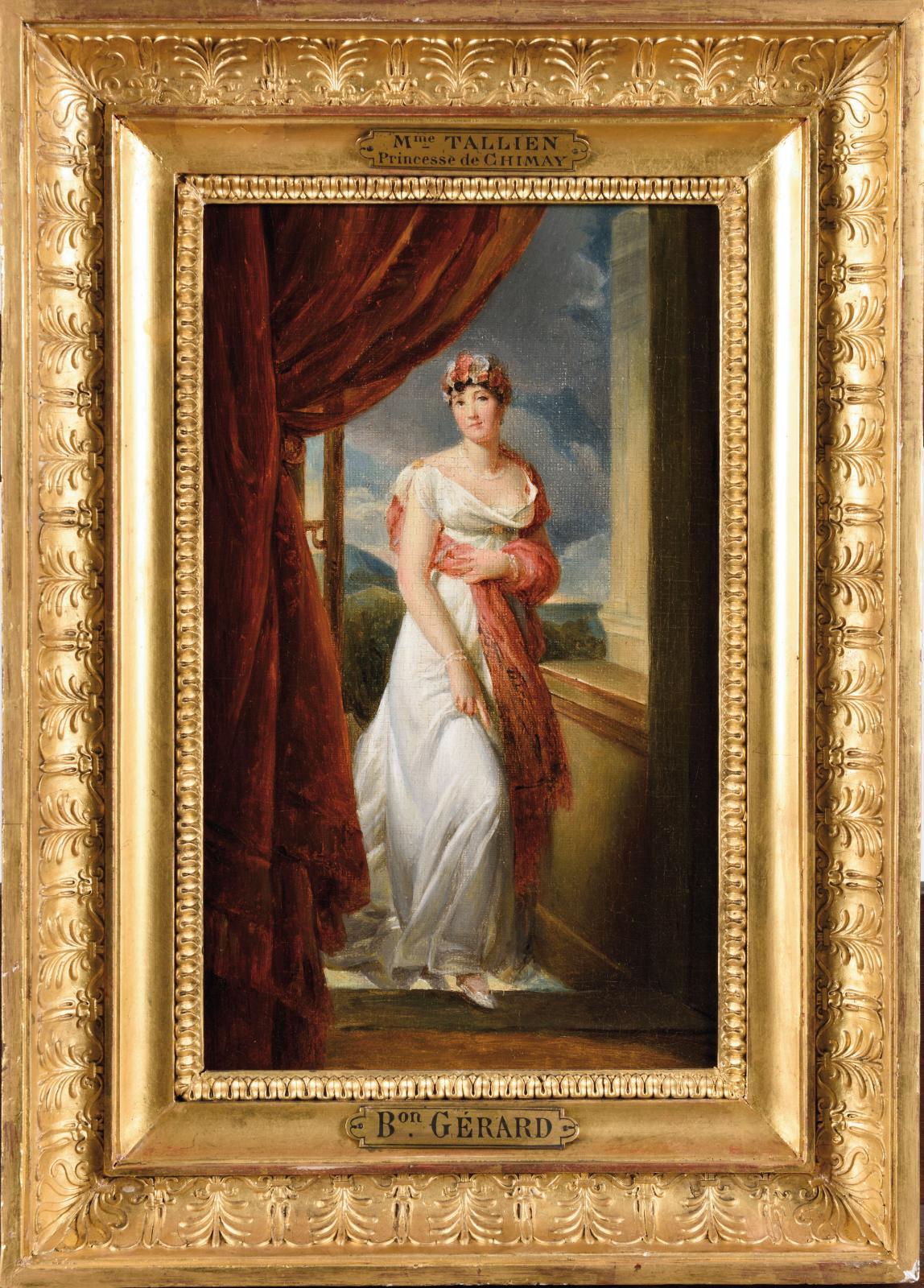 52500€ étaient requis pour ce Portrait de Thérésia Cabarrus, comtesse de Caraman (1773-1835), une toile peinte par le baron François Gér