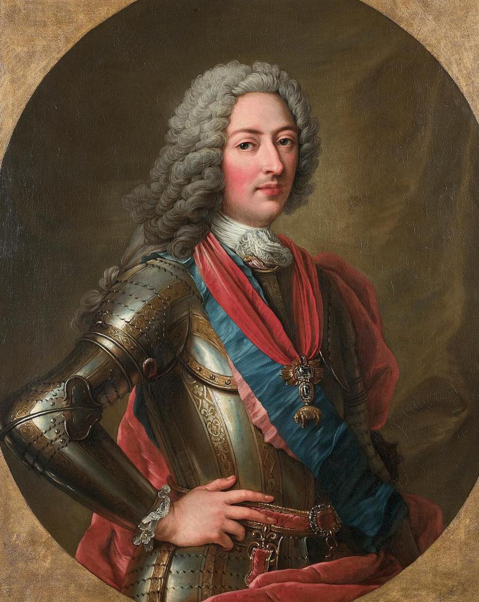 Charles-Antoine Coypel (1694-1752), Portrait de Louis d'Orléans, fils du régent (Portrait of Louis d'Orléans, the Regent's Son), c. 1730-1
