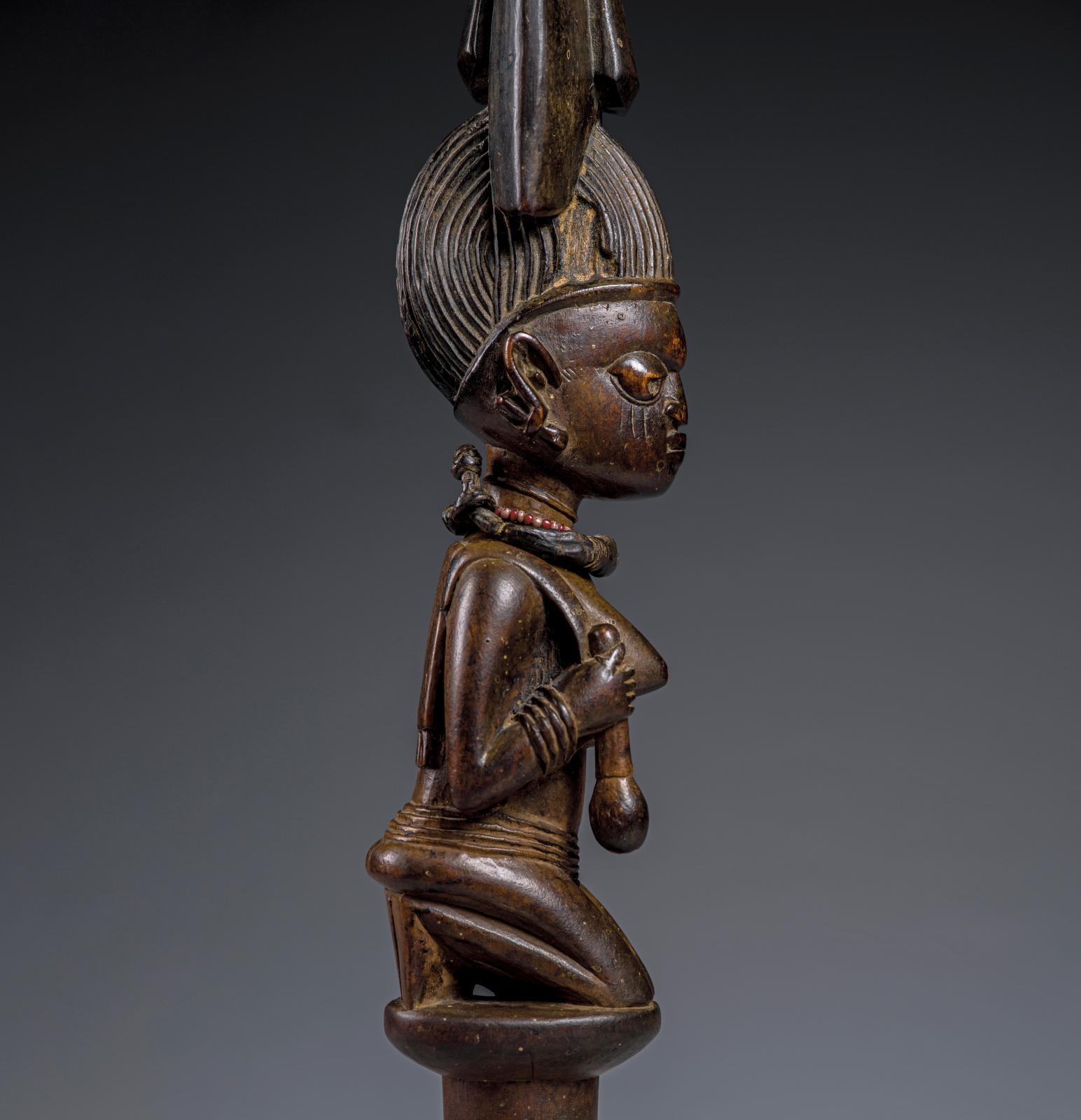 Figure Eshu,provenance de la collectionLeif Holmstedt (Danemark). Photo ÌMÒ DÁRA, Magnus Svensson. Courtesy Collection Thomas Halling