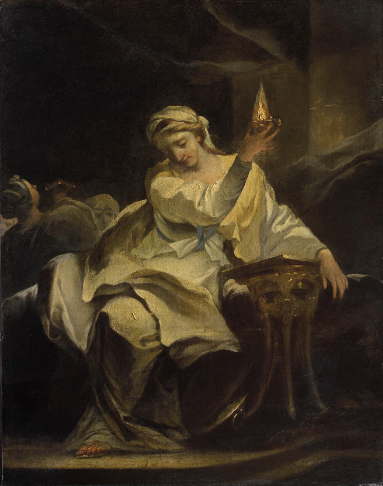Michel-François Dandré-Bardon (1700-1783), Allegory of Faith (?), oil on canvas, 74.6 x 58 cm (29.4 x 22.8 in).© Suzanne Nagy