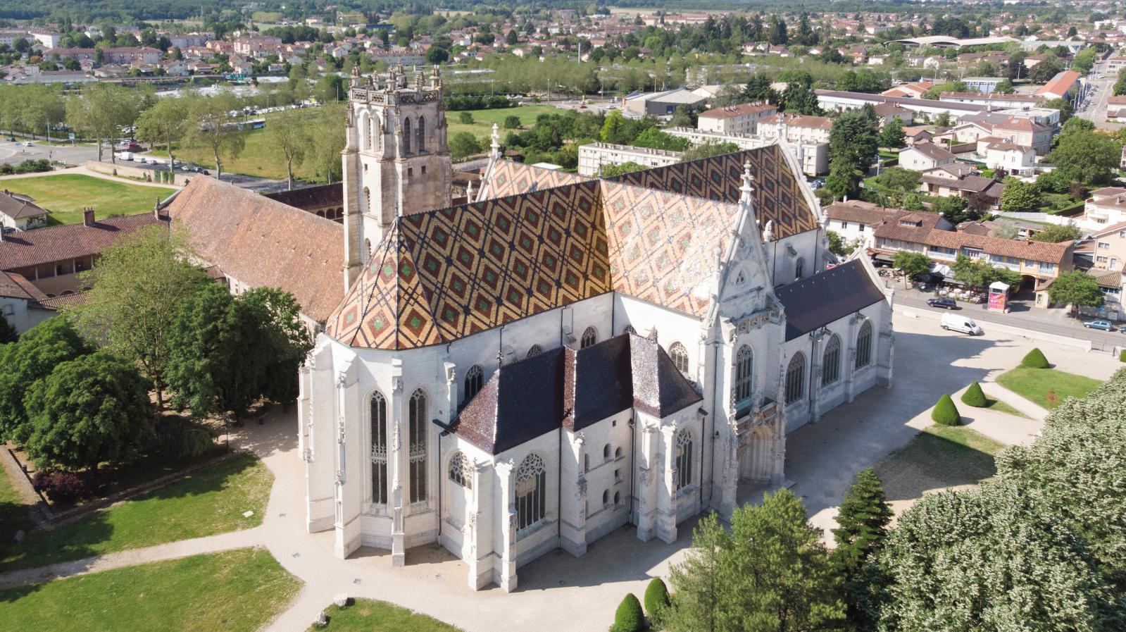 Monastère royal de Brou, à Bourg-en-Bresse (Ain). © Bourg-en-Bresse